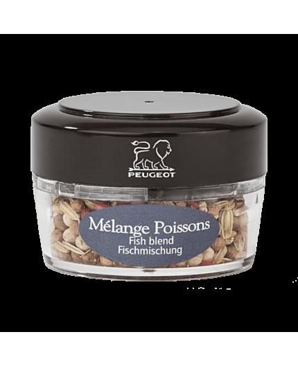 """Fiole de Poivres """"Mélange Poissons"""" Peugeot"""