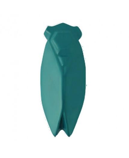 Cigale Evocation 10 cm Mate Bleu Canard