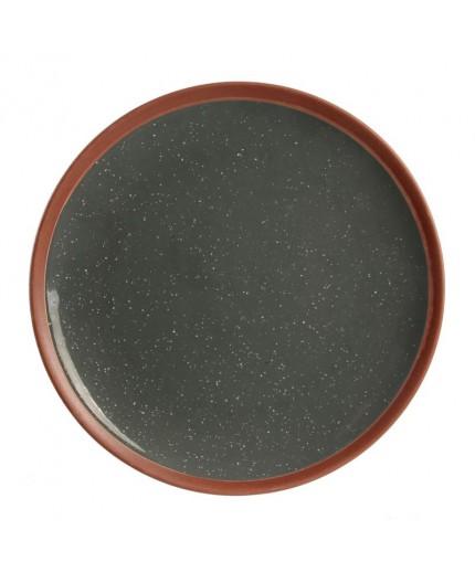 Assiette Plate  27 cm Gris My Little Market