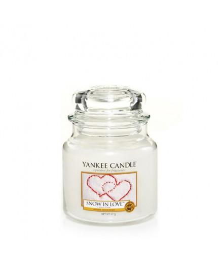 Amour D'hiver - Bougie parfumée moyenne jarre