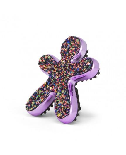 Niki Fashion Glitter Violet