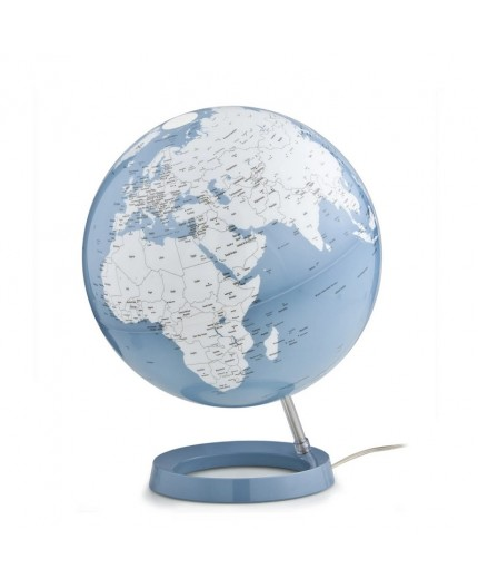 Globe Terrestre Lumineux Pastel Azur
