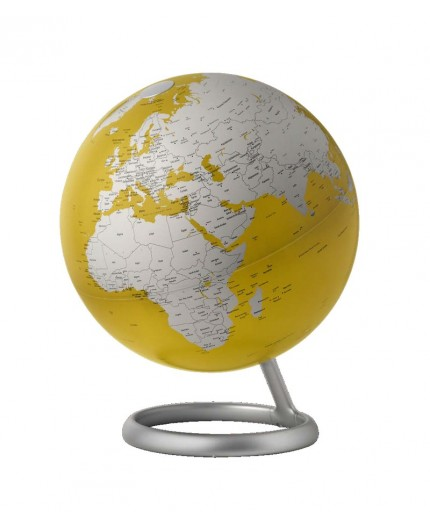 Globe Terrestre Lumineux Yellow