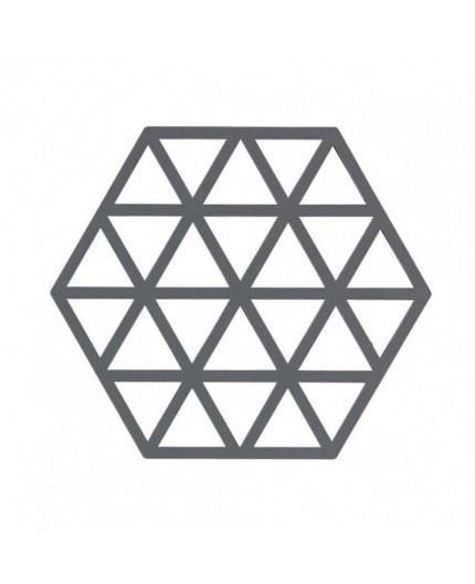 Dessous de plat Triangle Gris Froid