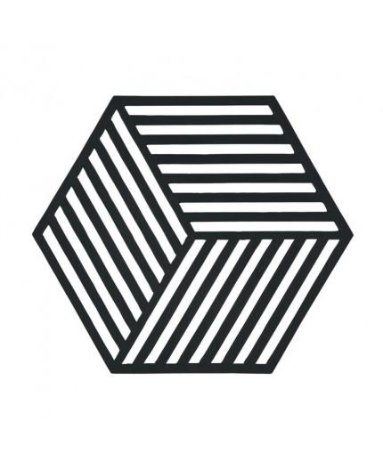 Dessous de plat Hexagon Black
