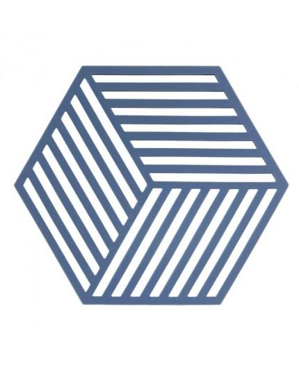 Dessous de plat Hexagon Denim