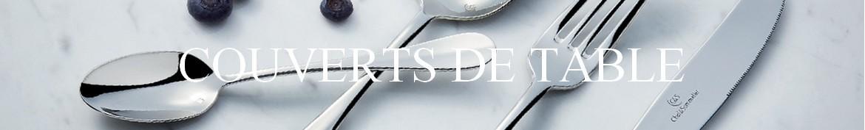 Couteaux de table, couverts, fourchette et service design
