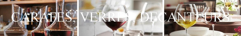 Carafe à vin, pichets , carafes à eau, verres